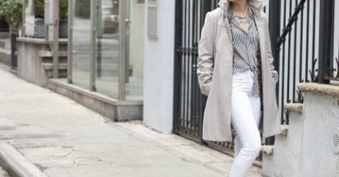 Kış Aylarında Beyaz Jean Kombinleri ve Öneriler
