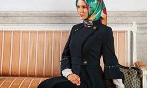 Kışlık Tesettür Elbise Trendleri