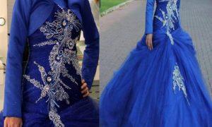 Rengarenk Seçenekleriyle Tesettür Nişan Kıyafetleri