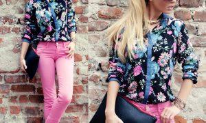 Çiçekli Bayan Gömlek Modelleri