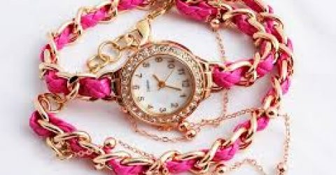 Bileklik Görünümlü Kadın Saatleri