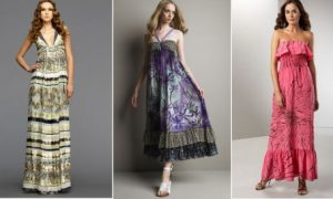 Günlük Bayan Elbise Modelleri