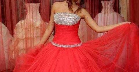 Kabarık Nişan Elbise Modelleri