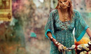Yazlık Bohem Elbise Modelleri