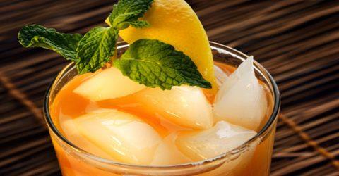 Yaz İçin Buzlu Çay Tarifi