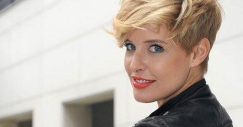 Bayan Asimetrik Kesim Saç Modelleri