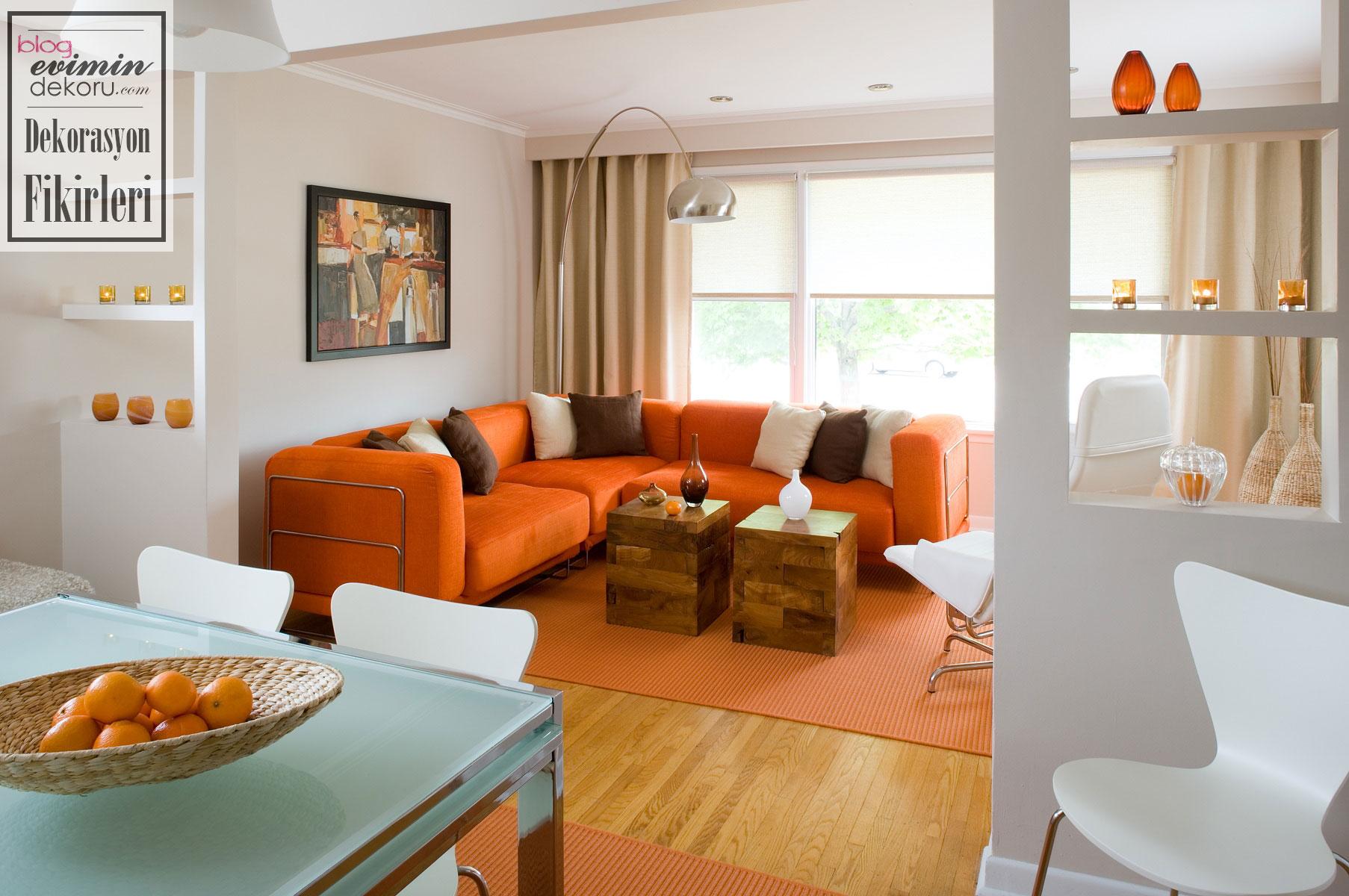 Ev dekorasyonunda sonbahar renkleri