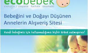 Organik Bebek Ürünleri Ecobebek.com'dan Alınır