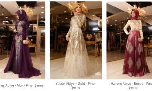 Tesettür Giyim'de Pınar Şems Şıklığı