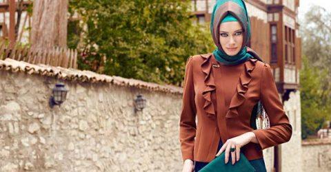 Alvina Giyim Tesettür Elbise Modelleri